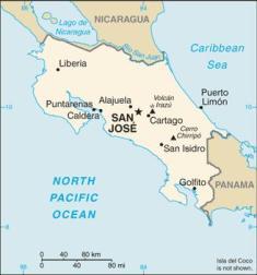 abolitionofmilitary-costaricamap